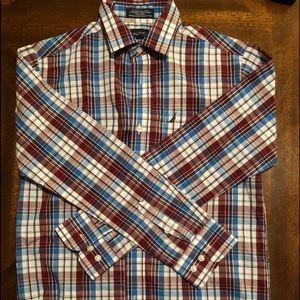 Nautica boys button front shirt